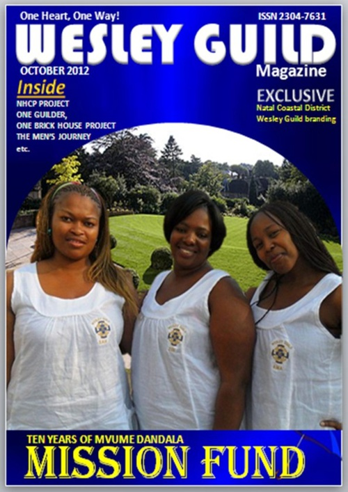 WESLEY GUILD MAGAZINE October 2012