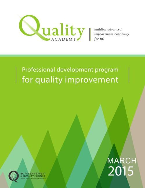 Quality Academy Cohort 10 Brochure