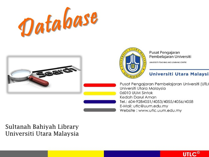 Bengkel Database Search UTLC_WM