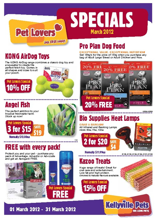 March Pet Lovers