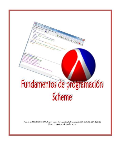 Capítulo 2. Fundamentos del Lenguaje Scheme
