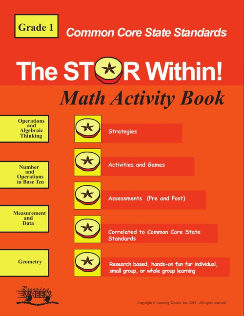 1st Grade Common Core Math Activity Book