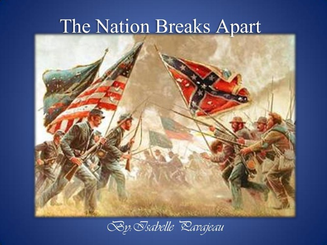 The Nation Breaks Apart