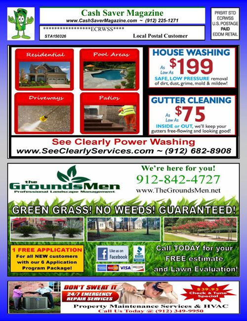 Cash Saver Magazine - Statesboro