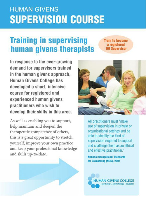 HG Supervision Course 2014