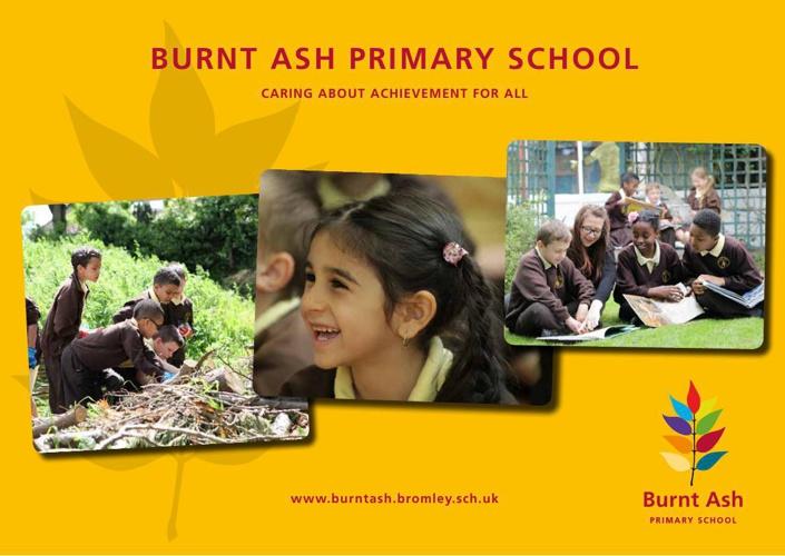 Burnt Ash Primary School - Interactive Prospectus