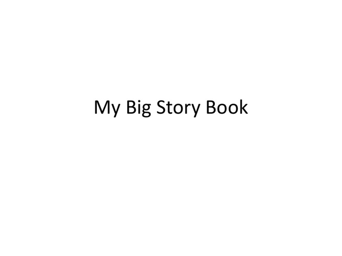 Test my big story book