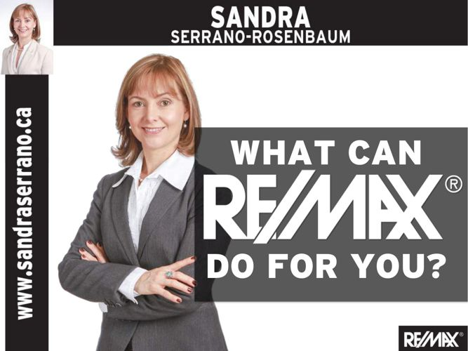 About RE/MAX with Sandra Serrano