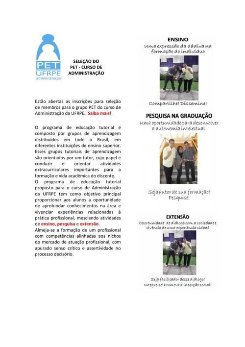 InfoDigi@al PET ADM UFRPE