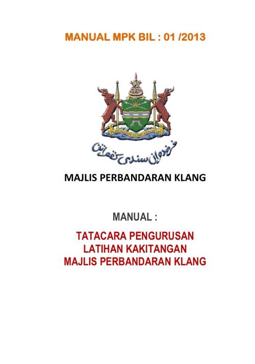 MANUAL MPK - Jabatan Khidmat Pengurusan ( 1 - 11 )
