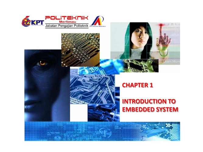 INTRODUCTION TO EMBEDDED SYSTEM APPLICATIONS
