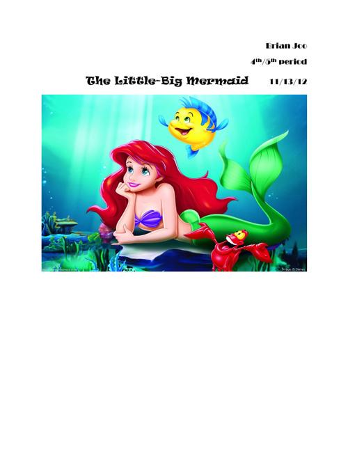 The Little-Big Mermaid