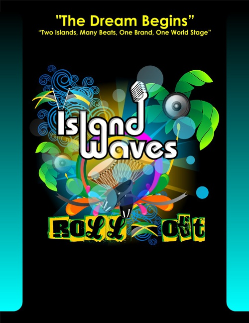 Island Waves Roll Out Media Kit Flip