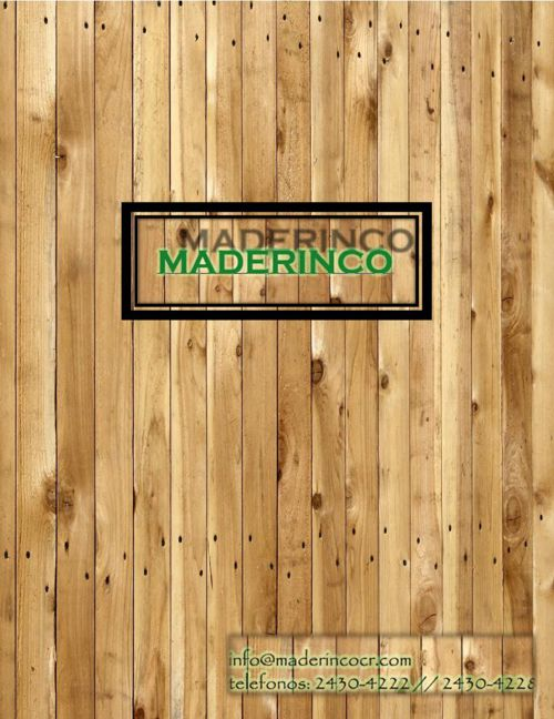 Catalogo Maderinco