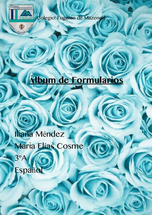 Álbum de formularios -1
