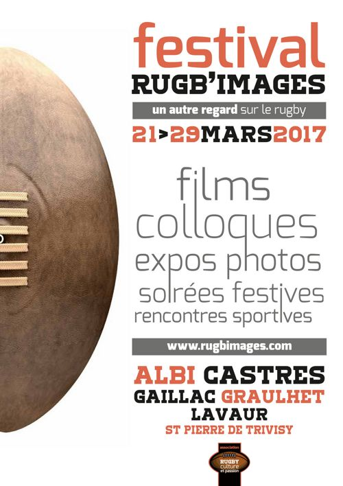Programmation du 3e festival Rugb'images dans le Tarn