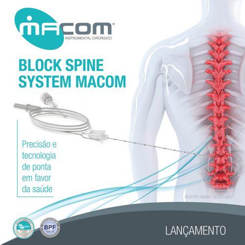 Macom - Block Spine System - Bloqueio Facetário