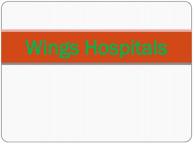 Wings-An IVF Hospital