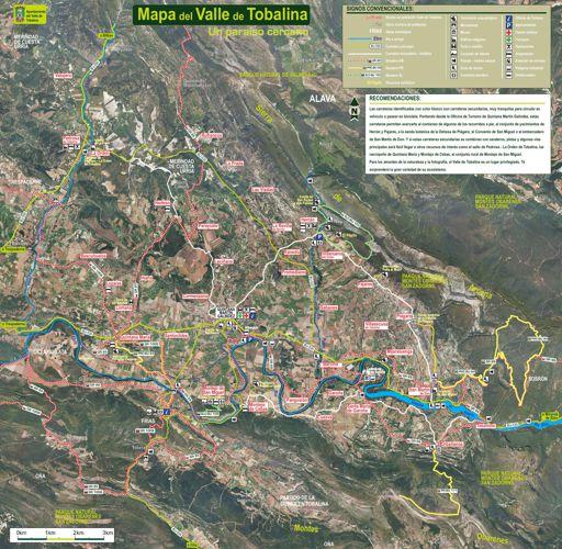 Senderos del Valle de Tobalina