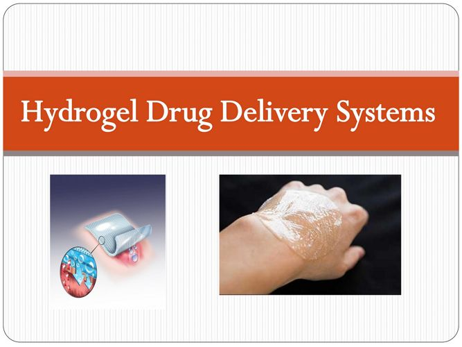 Hydrogel Drug Delivery System