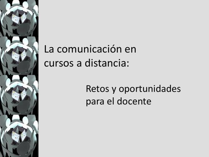 La comunicación en cursos a distancia, rev