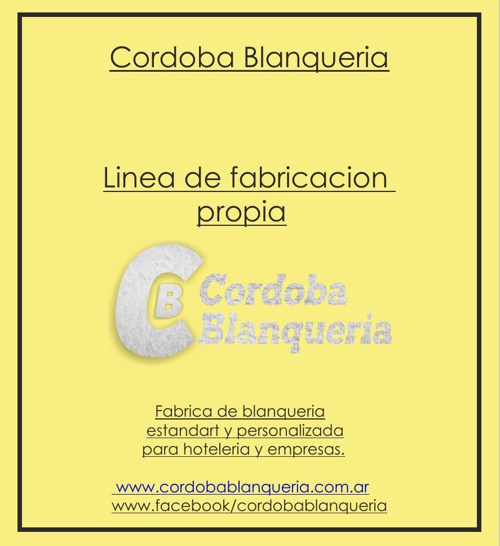 Catalogo Cordoba Blanqueria