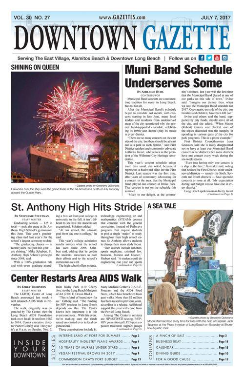 Downtown Gazette  |  July 7, 2017