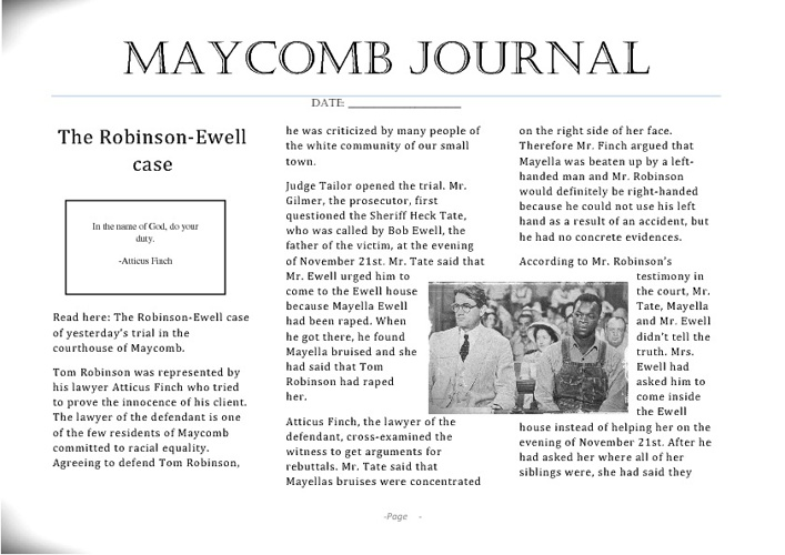 Maycomb Journal