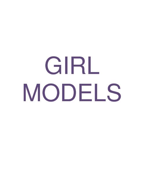 Updated Girl Models