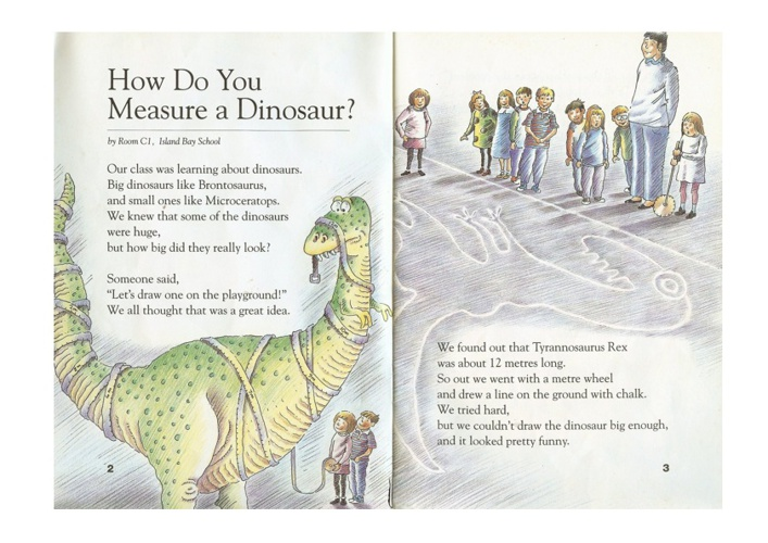 How Do You Measure a Dinosaur?