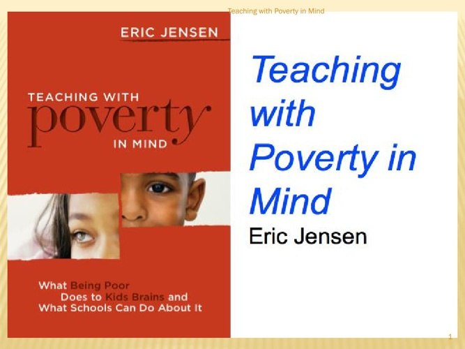 Eric Jenson's: Teaching with Poverty in Mind