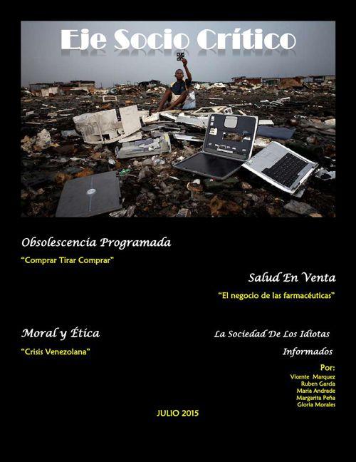Revista Digital Digital Eje Socio Critico