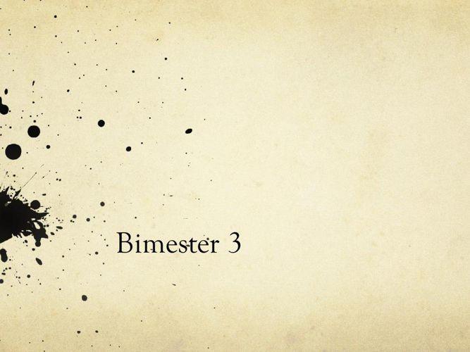 bimester 3