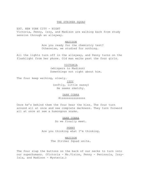 TheStrikersSquad-Script