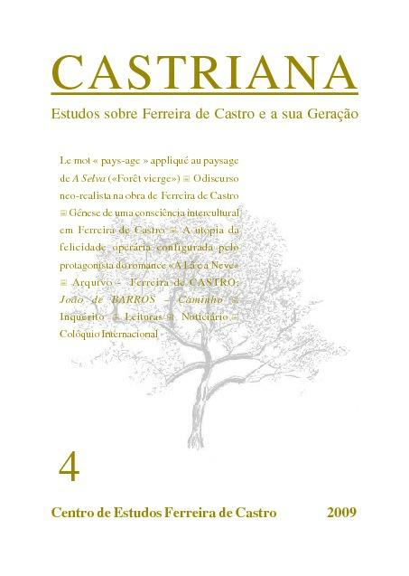 CASTRIANA 4 - Centro de Estudos Ferreira de Castro