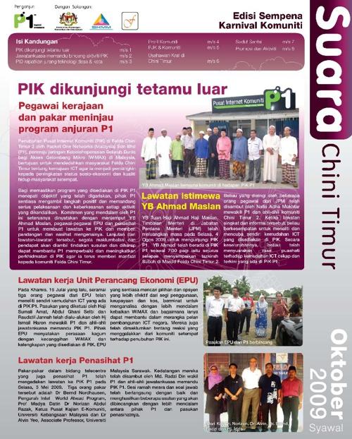 PJK Chini Timur Newsletter #2