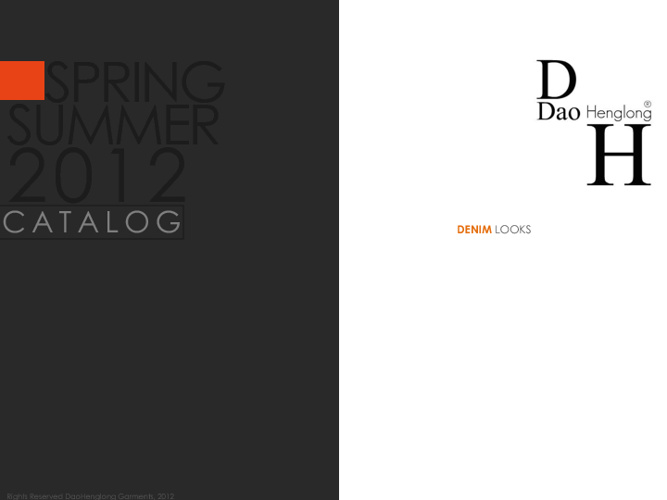 Dao Henglong Catalog for Men
