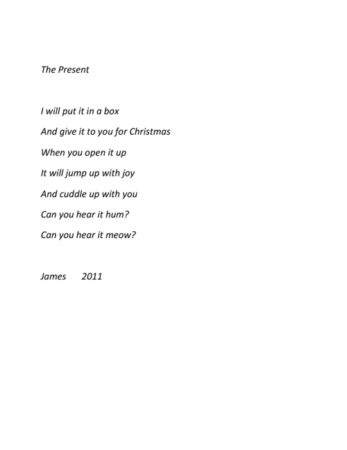 Stories and Poems for Christmas 2011