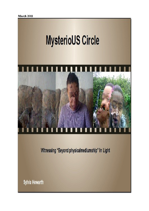 MYsterioUS Circle Mar 2011 Flip Book