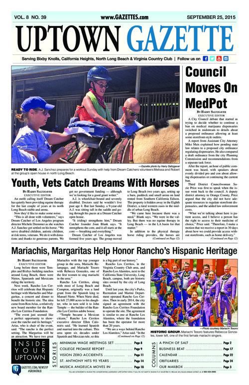 Uptown Gazette  |  September 25, 2015