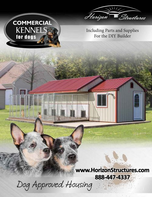 Horizon Structures Commercial Kennels - 2017