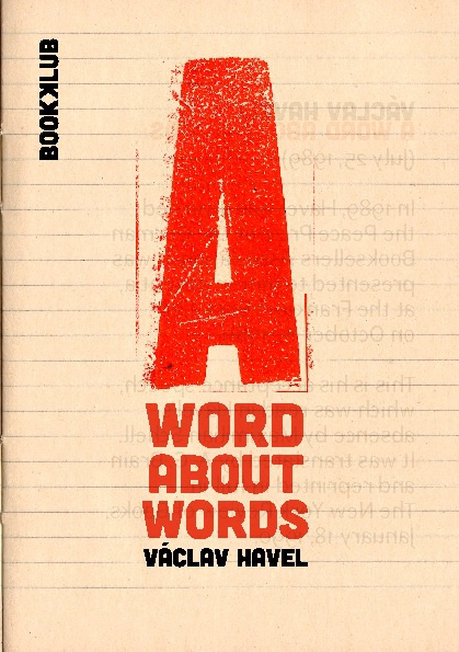 A WORD ABOUT WORDS