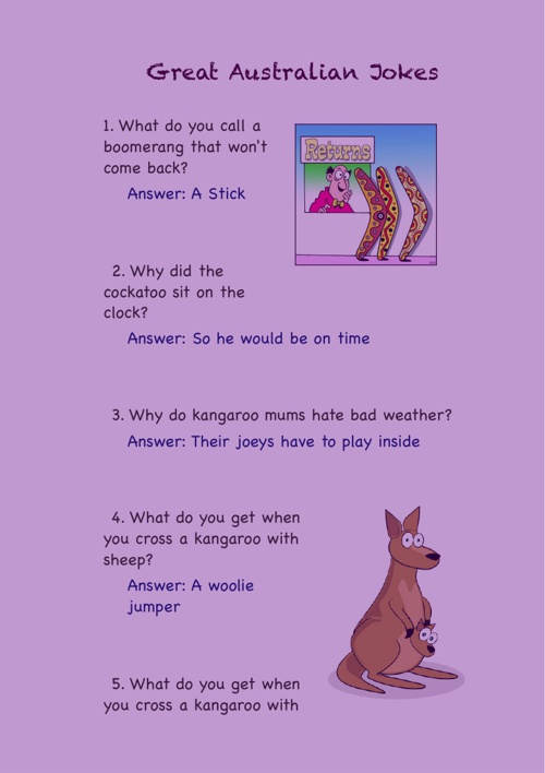 Kent's Joke Book
