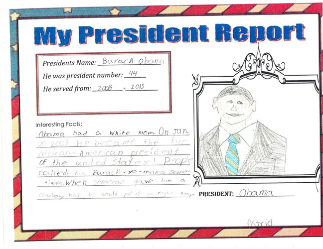 President Reports