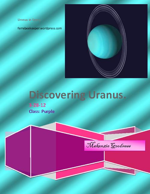 Discovering Uranus
