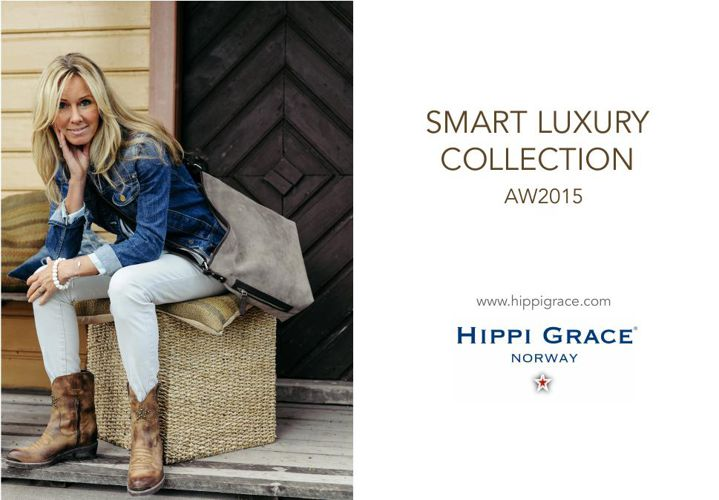 HIPPI GRACE  NEW SMART LUXURY COLLECTION  AW 2015