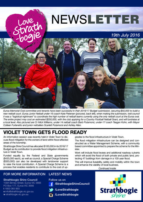 Love Strathbogie Newsletter 19072016