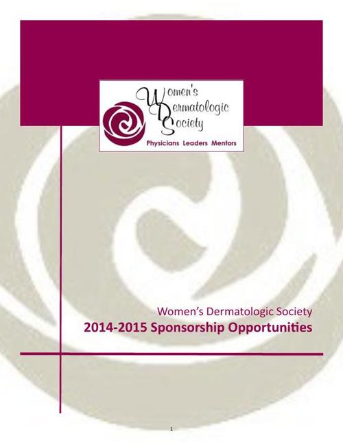 Fundraising Sponsorship Brochure 10.28