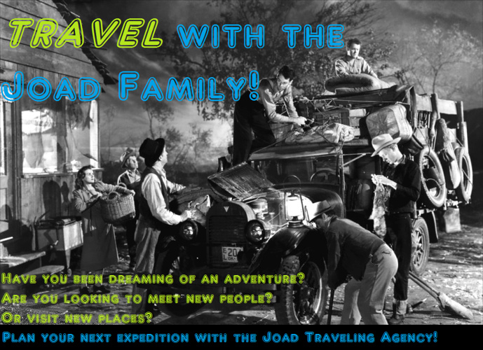 Travel with the Joads!