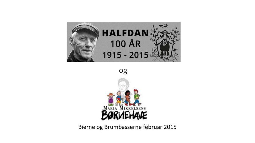 Halfdan Rasmussen og MMB